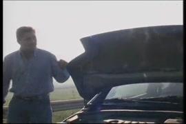 كسر مثير عشيق معلقة على التوالي سيارتي